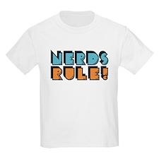 Nerds Rule! Kids T-Shirt