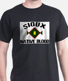 Sioux Native Blood T-Shirt