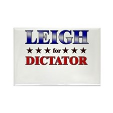 LEIGH for dictator Rectangle Magnet