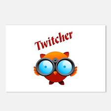 """""""Twitcher"""" POSTCARDS (8)"""