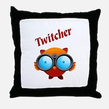"""""""Twitcher"""" THROW PILLOW"""