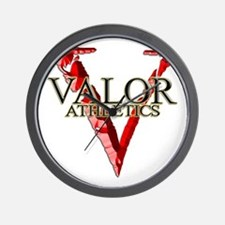 VALOR ATHLETICS Original Wall Clock