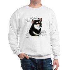 Shiba Inu (blk/tan) Sweatshirt