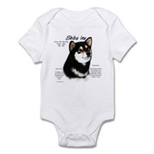 Shiba Inu (blk/tan) Infant Bodysuit