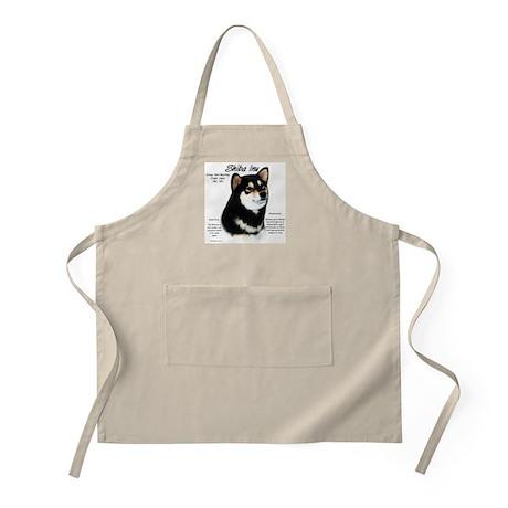Shiba Inu (blk/tan) BBQ Apron