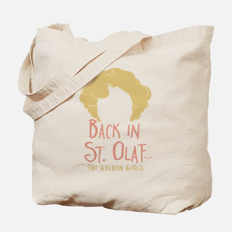 Back In St Olaf Tote Bag