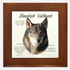Swedish Vallhund Framed Tile