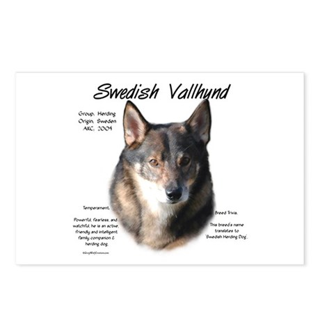 Swedish Vallhund Postcards (Package of 8)