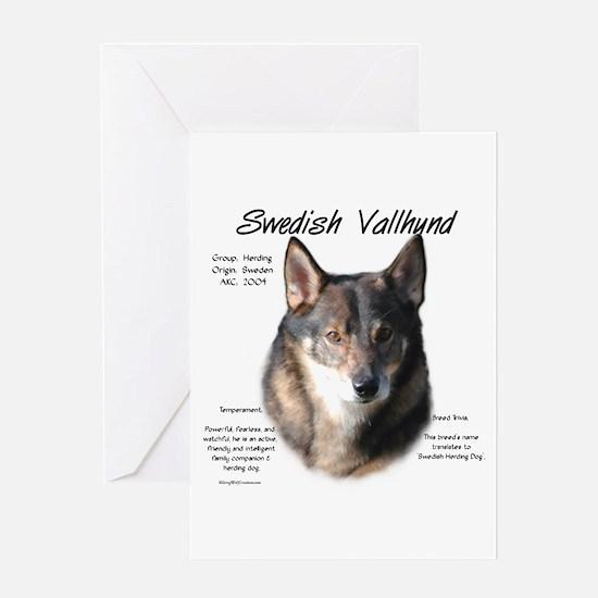 Swedish Valhund Greeting Card