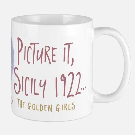 Golden Girls Picture It Mugs