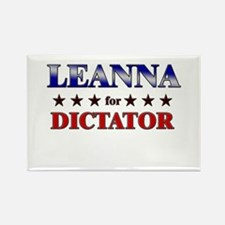 LEANNA for dictator Rectangle Magnet