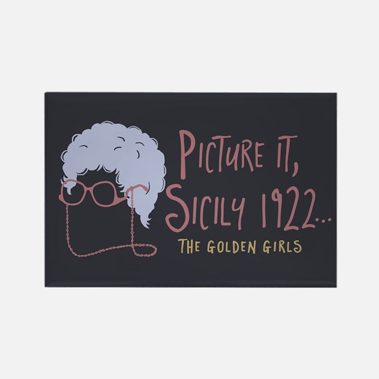 Golden Girls Picture It Magnets