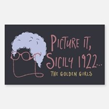 Golden Girls Picture It Decal