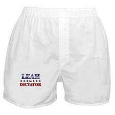 LEAH for dictator Boxer Shorts