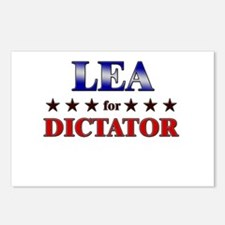 LEA for dictator Postcards (Package of 8)