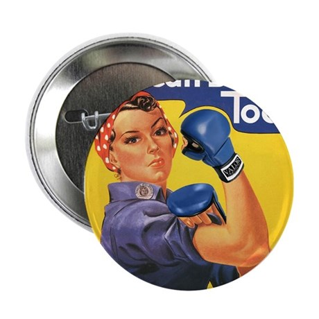 """Emma May ( Rosie the Riveter ) 2.25"""" Button (10 pa"""