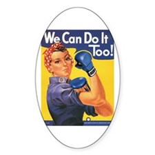 Emma May ( Rosie the Riveter ) Decal