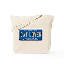 Pennsylvania Cat Lover Tote Bag