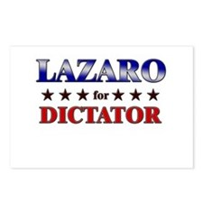 LAZARO for dictator Postcards (Package of 8)