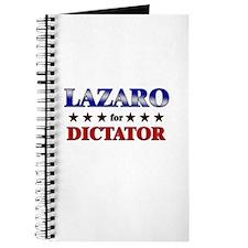 LAZARO for dictator Journal