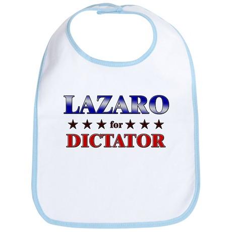 LAZARO for dictator Bib