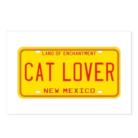 New Mexico Cat Lover Postcards (Package of 8)