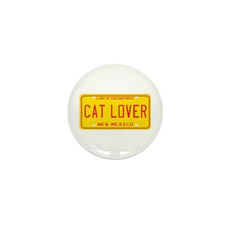 New Mexico Cat Lover Mini Button (100 pack)