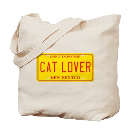 New Mexico Cat Lover Tote Bag