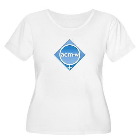ACMW Women's Plus Size Scoop Neck T-Shirt