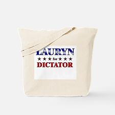 LAURYN for dictator Tote Bag