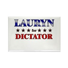 LAURYN for dictator Rectangle Magnet