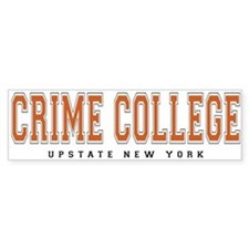 ThePulp.Net Crime College Bumper Bumper Sticker
