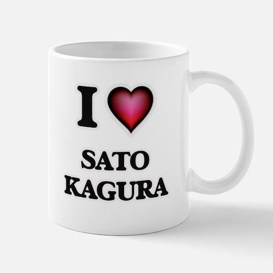 I Love SATO KAGURA Mugs