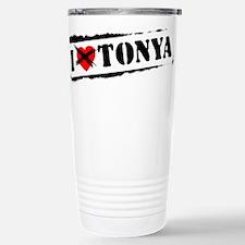 Unique Love hate Travel Mug