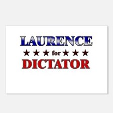 LAURENCE for dictator Postcards (Package of 8)