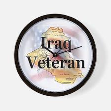 Iraq Veterans Wall Clock