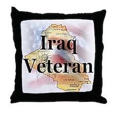 Iraq Veterans Throw Pillow