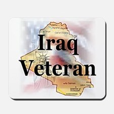 Iraq Veterans Mousepad