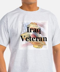 Iraq Veterans Ash Grey T-Shirt