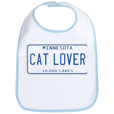 Minnesota Cat Lover Bib