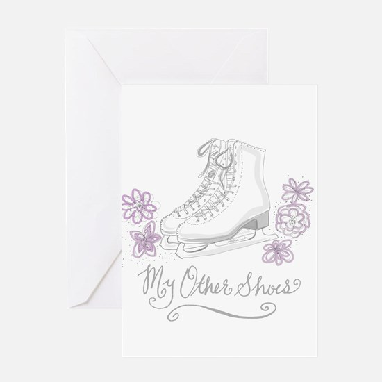 My Other Shoes Figure Skates Greeting Cards