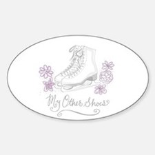 My Other Shoes Figure Skates Decal