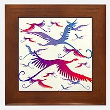 Flight of Fancy Framed Tile