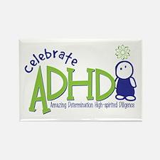 Celebrate ADHD Rectangle Magnet