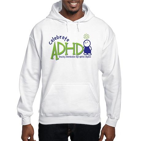 Celebrate ADHD Hooded Sweatshirt