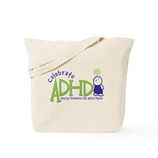 Celebrate ADHD Tote Bag