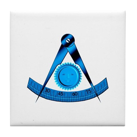 Blue Lodge Past Master Tile Coaster