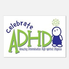 Celebrate ADHD Postcards (Package of 8)