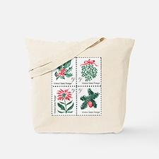 Christmas stamp Tote Bag