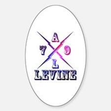 Cute Levine Sticker (Oval)